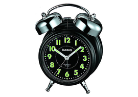 Casio Analog Black Clock