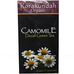 Camomile Green Tea, 25 bags