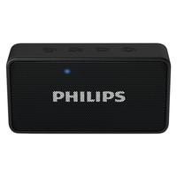 Philips BT64B/94 Portable Bluetooth Mobile/Tablet Speaker,  red
