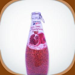 Americano Drink Pomegranate Flavor