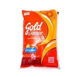 Goldwinner Sunflower Oil, 1 litre