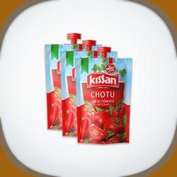 Kissan Chotu Fresh Tomato Ketchup, 85 grams