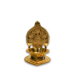 "Ashtalakshmi Lamp (Height-6"" , Weight-530 Grms, Diameter-2 3/4"" )"