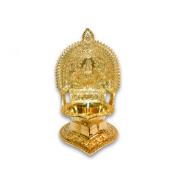 "Kamatchi Lamp (Height-8 1/2"" , Weight-1.150Kg, Diameter-3"" )"