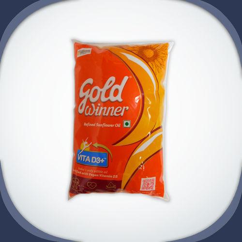 Goldwinner Sunflower Oil, 1 litre