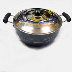 Deep Kadai 215 (With steel lid)