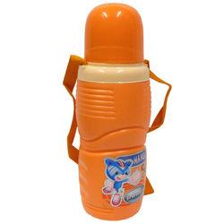 Orange Colour Water Bottle, 650 ml, single piece