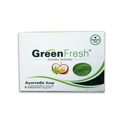 Green Fresh Ayurvedic Soap, 75 grams