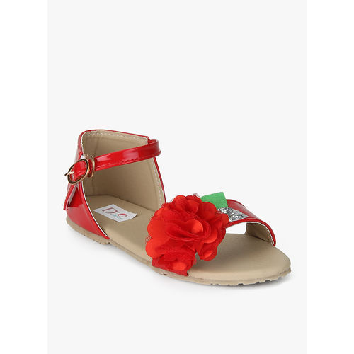 D chica Red Sandals, 31