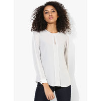 Dorothy Perkins Solid Blouse, 6,  grey