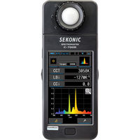 Sekonic C-700R SpectroMaster Color Meter with Wireless Flash Triggering