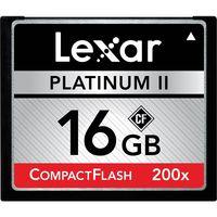 Lexar PII CF 16GB 200X Memory Card