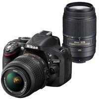 Nikon D5200 (18-55mm VRII+ 55-200mm VRII) DSLR Kit