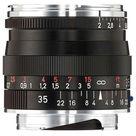 Zeiss 35mm f/2 Biogon T* ZM Lens (Black)