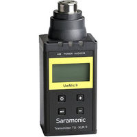 Saramonic Plug-On XLR Transmitter for UwMic9 Digital UHF Wireless Microphone System