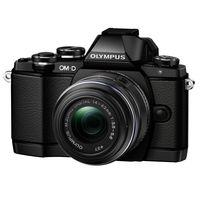 Olympus EM-10 2RK with 14.42 Old Lens & 8GB Card, black
