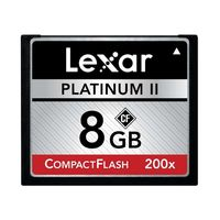 Lexar PII CF 8GB 200X Memory Card