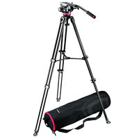 Manfrotto MVK 502AM - Video Telescopic Twin Leg TripodKit