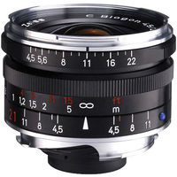 Zeiss 21mm f/4.5 C Biogon T* ZM Lens (Black)