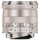 Zeiss 25mm f/2.8 Biogon T* ZM Lens (Silver)