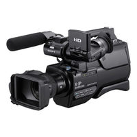 Sony1 HXR MC1500P Professional Video Camera,  black