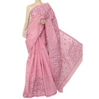 Move Lucknowi Chikankari Saree