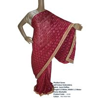 Phulkari Saree Modern