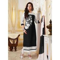 Black Designer Salwar Suit