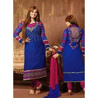 Blue Designer Salwar Suit