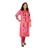 Beautiful Pink Georgette Kurti