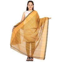 Venkatagiri Cotton Handloom Strips Dupatta