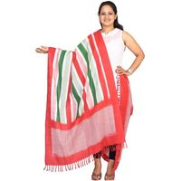 Pochampally or Ikat Cotton Handloom Dupatta
