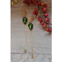 Sakshi's Green Stone Earings