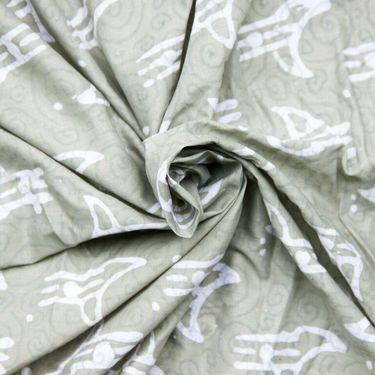 Third Eye Timberwolf Batik Cotton
