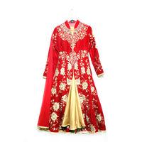 Red Colour Party Wear Suit