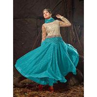 Exclusive Blue Anarkali Suit