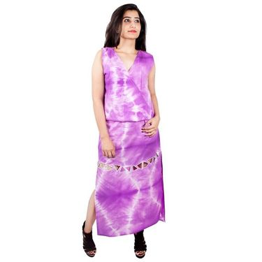 Trico Tie And Dye Gown