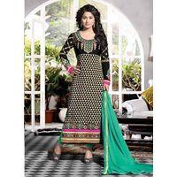 Cream Designer Salwar Suits