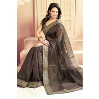 Printed Cotton Saree With Beautiful Border