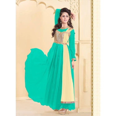 Embroidery Designer Gown