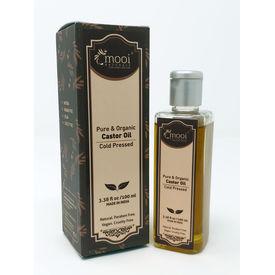 Organic Castor Oil Cold pressed, 100ml