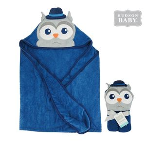 Animal Hooded Towel-Mr. Owl, baby boy