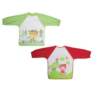 Printed Coverall With Long Sleeve, baby neutral