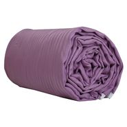 Lavender color double size dohar, lavender, 90 inches by 100 inches