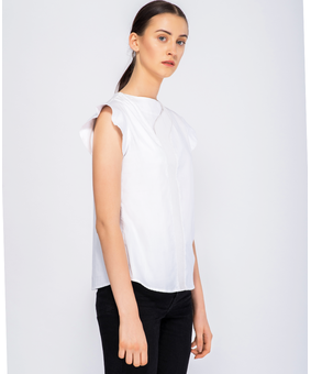 DOM Rigged Blouse, white, xl