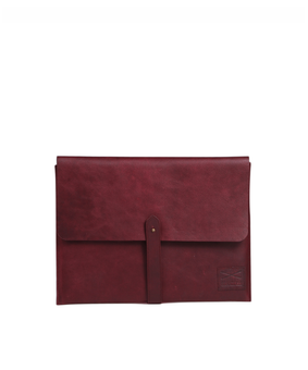 Brandless Laptop Folio, red