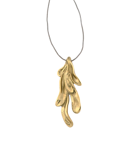 MD Sirena Pendant, gold