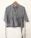 TPP Flared Checked Top
