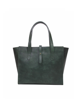 Brandless All Day Tote, green