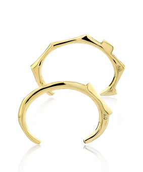 MD Totem Bangle Set, gold